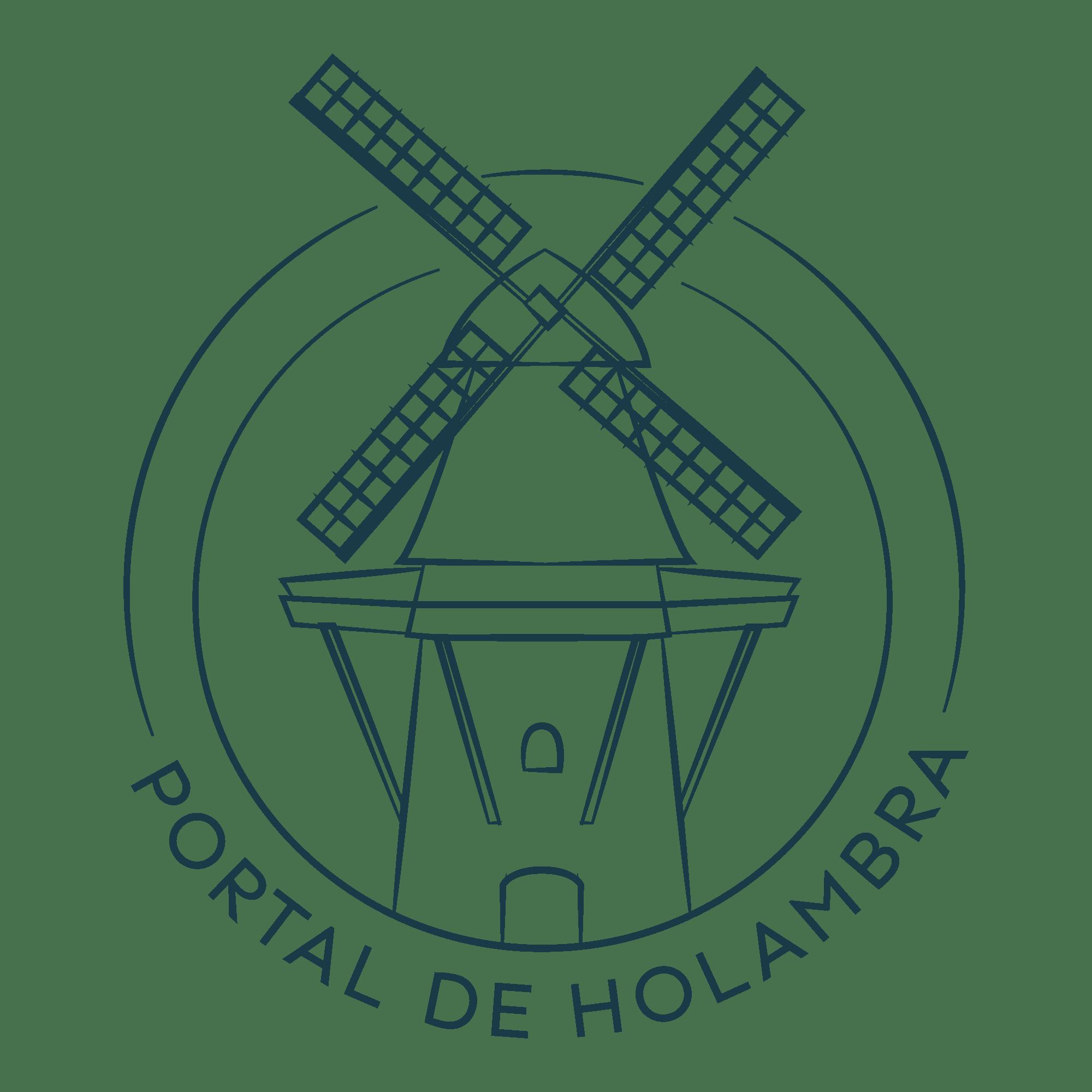 Logotipo Portal de Holambra