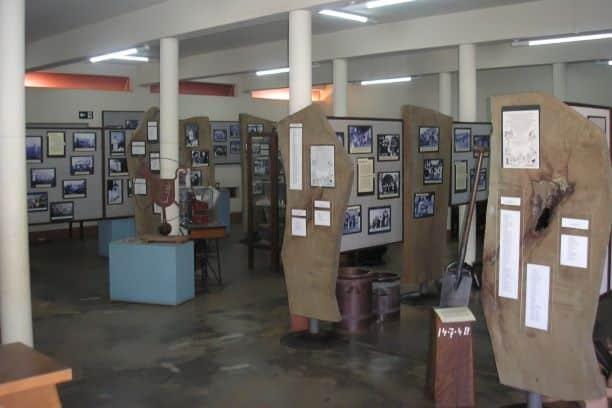 Exposição de fotos do Museu de Holambra