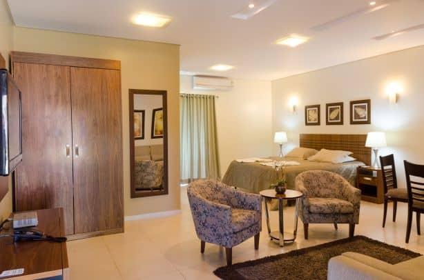 Suíte do Villa de Holanda Parque Hotel