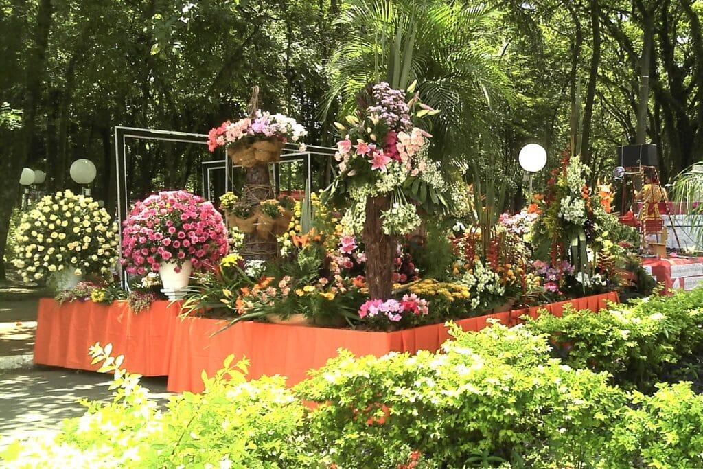 Carreta de Flores do Carnaflores de Holambra