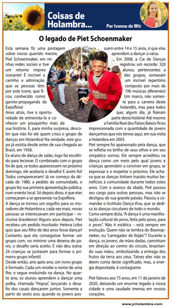 Terceira edição da Coluna no Jornal da Cidade